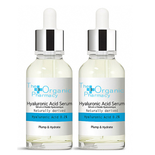 The Organic Pharmacy - The Organic Pharmacy Hyaluronic Acid Serum 2x30 ml
