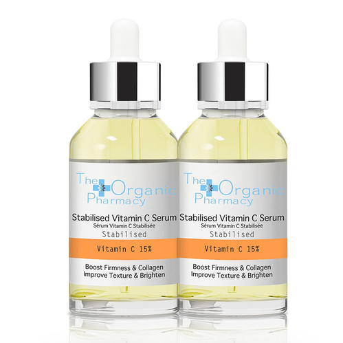 The Organic Pharmacy - The Organic Pharmacy Stabilised Vitamin C Serum 2x30 ml