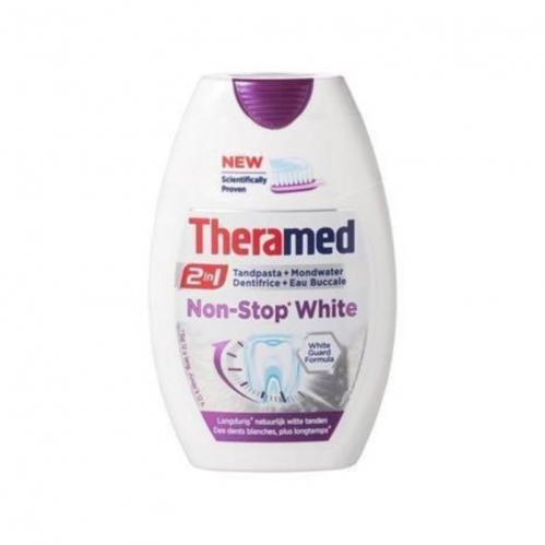 Theramed - Theramed 2 in 1 Non Stop White Diş Macunu 75 ml