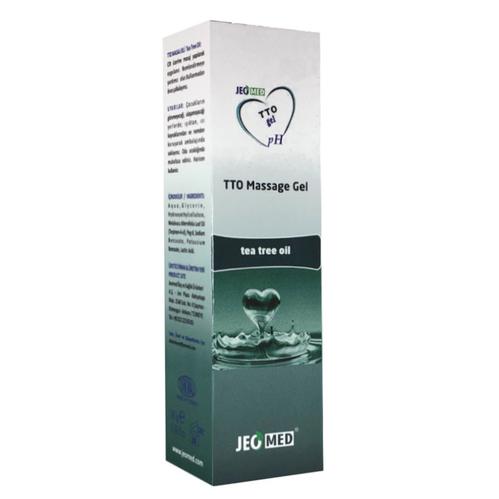 Tto - TTO Çay Ağacı Özlü Masaj Jeli 60 gr