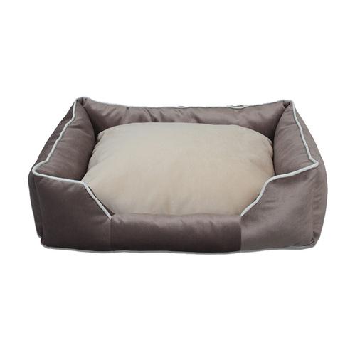 Tulyano - Tulyano Novum Kedi ve Köpek Yatağı 40x50x22 cm - Gri
