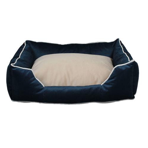 Tulyano - Tulyano Novum Kedi ve Köpek Yatağı 50x70x24 cm - Lacivert