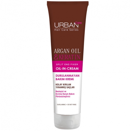 Urban Care - Urban Care Argan Oil And Keratin Durulanmayan Bakım Kremi 150 ml