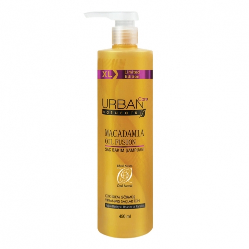 Urban Care - Urban Care Macadamia Oil Fusion Saç Bakım Şampuanı 450 ml