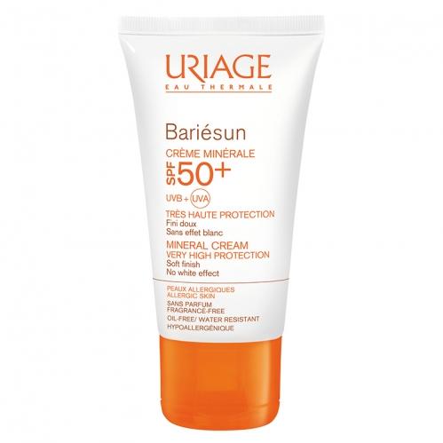 Uriage Ürünleri - Uriage Bariesun Spf50 Güneş Koruyucu Mineral Krem 50ml