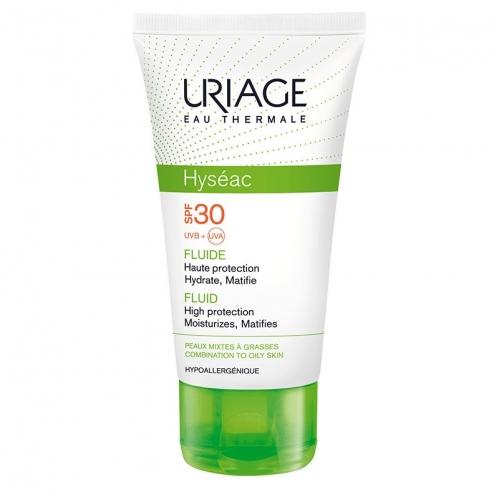 Uriage - Uriage Hyseac Fluide Spf30 Krem (Oil Free) 50ml