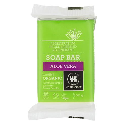 Urtekram - Urtekram Organik Aloe Vera Özlü Kalıp El Sabunu 100 gr
