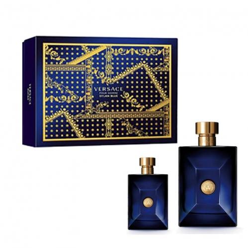 Versace - Versace Dylan Blue EDT 100 ml Erkek Parfüm Seti