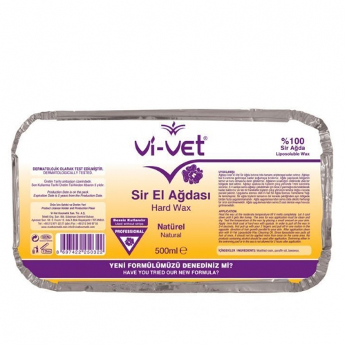 Vi-vet - Vi-vet Sir El Ağdası Natürel Folyo 500ml