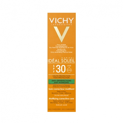 Vichy Capital Soleil Spf30+ Mattifying Corrective Care Cream 50ml - Thumbnail