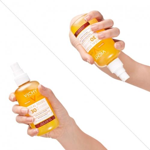 Vichy Ideal Soleil SPF30 Solar Protective Water Enhanced 200ml - Thumbnail