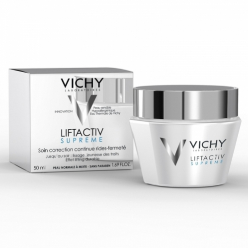 Vichy Liftactiv Supreme Cream 50ml - (Normal & Karma Ciltler) - Thumbnail