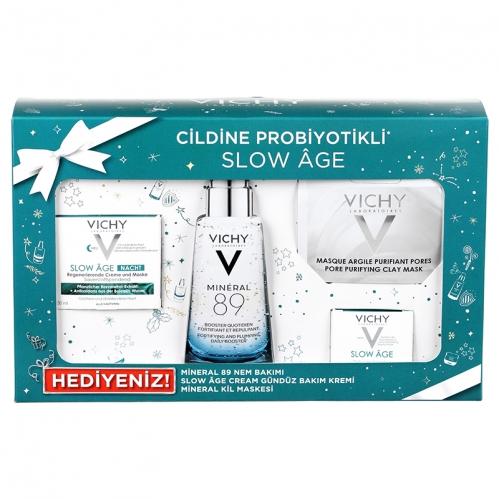Vichy Probiyotik Cilt Bakım Seti - Gece - Thumbnail