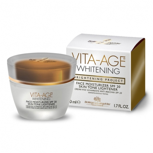 Dead Sea Spa Magik - Vita Age Whitening Face Moisturizer SPF20 50 ML