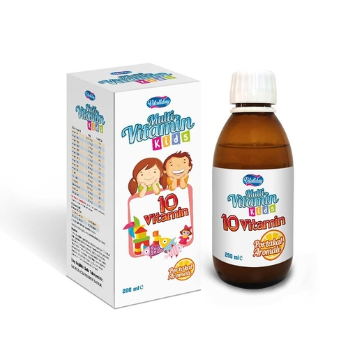 VitaDay - Vitaday Multi Vitamin Kids 200ml - Portakal Aromalı