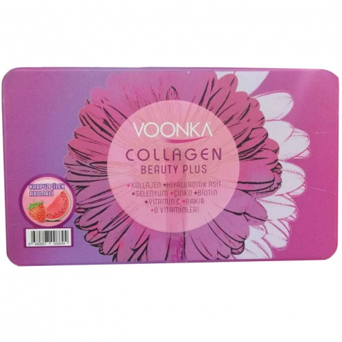 Voonka - Voonka Collagen Beauty Plus 30 Saşe Çilek & Karpuz Aromalı