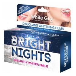 White Glo - White Glo Bright Nights Beyazlatıcı Diş Bantları 6Adet