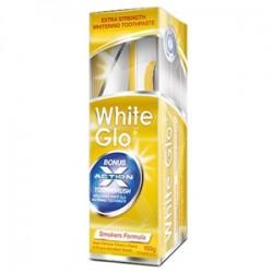White Glo - White Glo Sigara Lekelerine Karşı Beyazlatıcı Diş Macunu 100ml 150gr