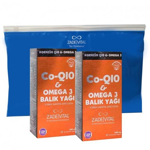 Zade Vital - Zade Vital Koenzim Q10 Omega 3 İkincisi %50 İndirimli